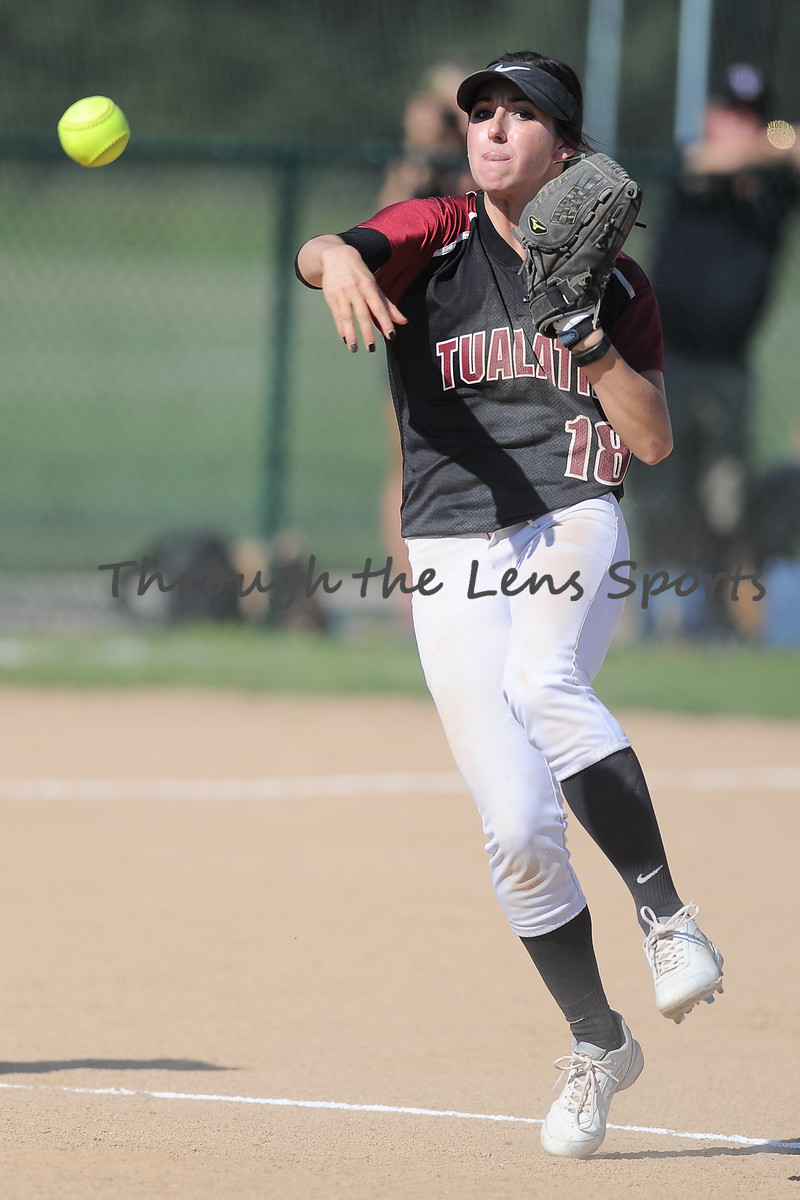 Tualatin vs. West Albany High School Softball