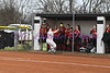#30 SHelby Densmore chaises a high foul ball.