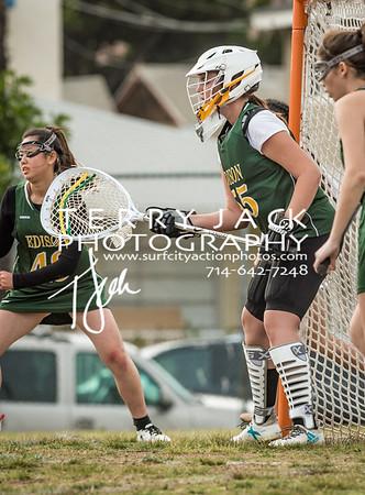 Edison Girls Lacrosse vs LB Wilson-13-2