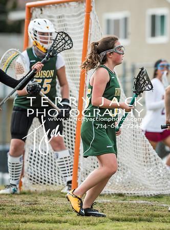 Edison Girls Lacrosse vs LB Wilson-10-2