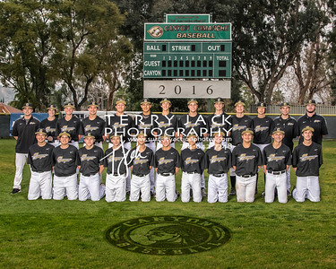 Canyon Baseball 2016-frosh 16x20