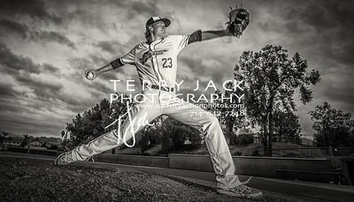 Canyon Baseball 2016-400bw