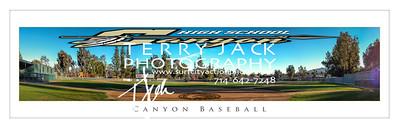 Canyon Baseball Pano 20x60
