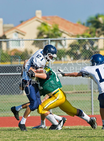 Newport Harbor @ Edison 2012 Frosh Football_6194