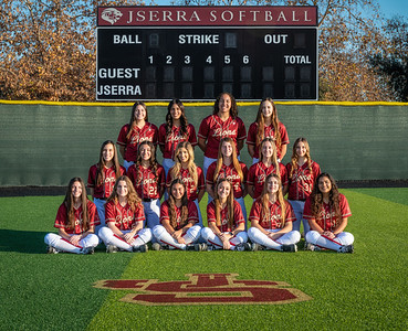 Jserra Softball  Group 2020-5