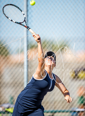 Edison vs  Cypress Girls Tennis 2-27nik