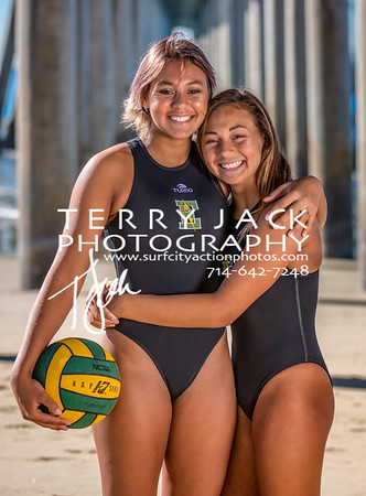 Edison Water Polo Team-116 sam and lily