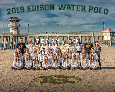 Edison Water Polo 2019 Team