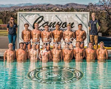 Canyon Water Polo Varsity 2017