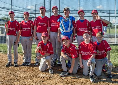 Batesville 6/5/16 - USSSA U11 & U12 Baseball