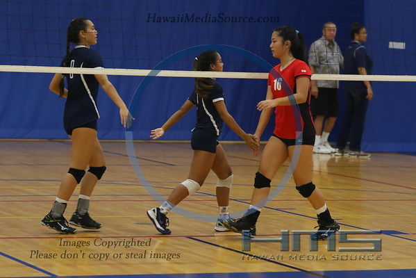 High School Girls Volleyball 2016