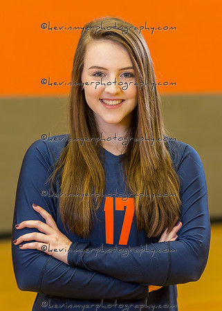 Wakeland Varsity Volleyball HeadShots