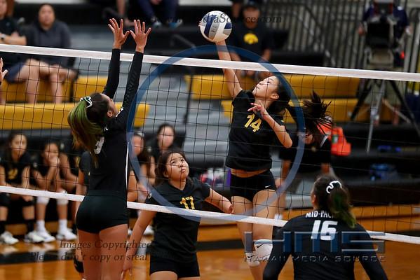 High School Girls Volleyball 2018