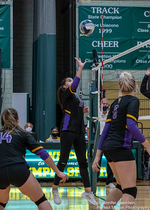 Griffin Volleyball vs Brockport-36