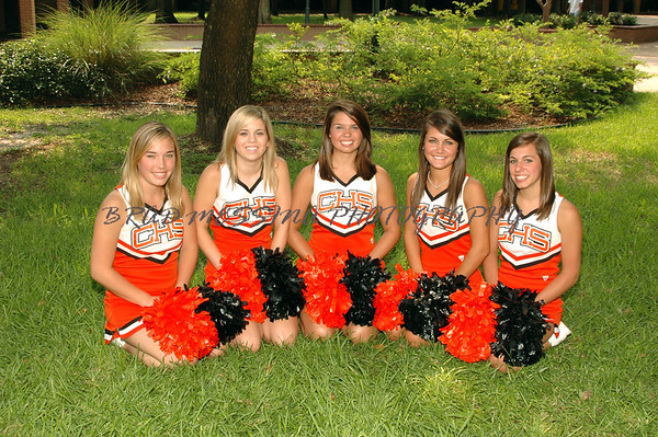 2007-08 CHS Cheerleaders