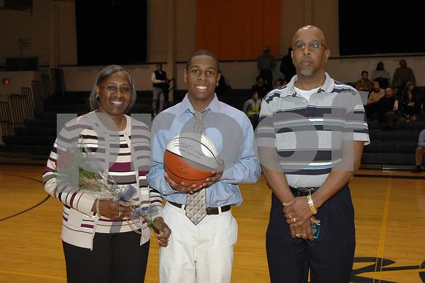 Episcopal Boys Basketball  Senior Night (02-16-07)