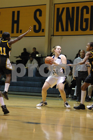 Episcopal Girls Basketball  vs St. Helena (02-02-07)