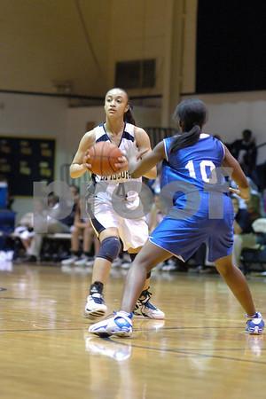 Episcopal Girls Basketball  vs Port Allen (01-23-07)