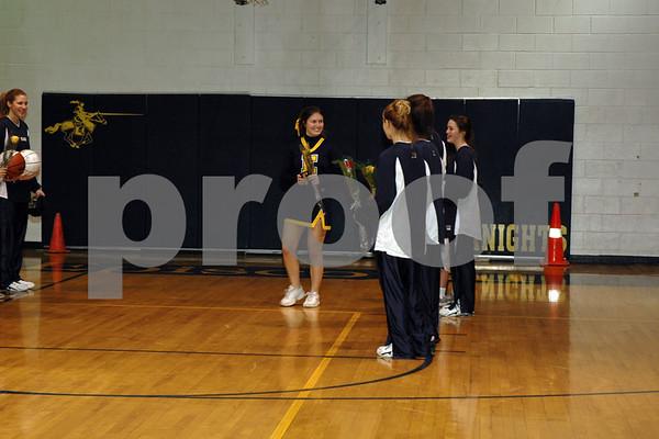 Episcopal Girls Basketball  Senior Night (02-06-07)