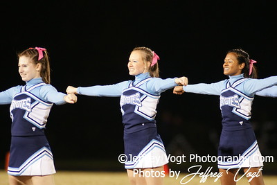 10-21-2011 Clarksburg HS & Quince Orchard HS Band Cheerleading Poms Photos by Jeffrey Vogt