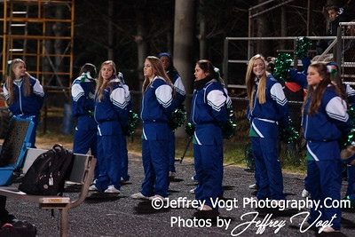 11-18-2011 Quince Orchard HS & Churchill HS Band Cheerleading Poms Photos by Jeffrey Vogt