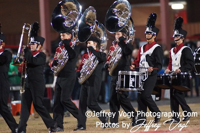 11-25-2011 Quince Orchard HS & Flowers HS Band Cheerleading Poms Photos by Jeffrey Vogt