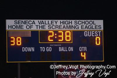 10-14-2011 Seneca Valley HS vs Blake HS Varsity Football Photos by Jeffrey Vogt
