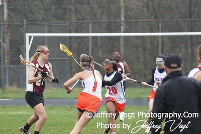 03-24-2012 Watkins Mill HS vs Paint Branch HS Varsity Girls Lacrosse Photos by Jeffrey Vogt