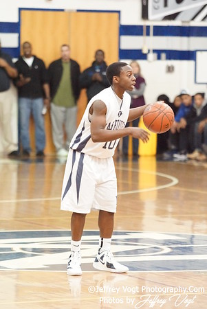 12-19-2011 Magruder HS vs Springbrook HS Varsity Boys Basketball Photos by Jeffrey Vogt