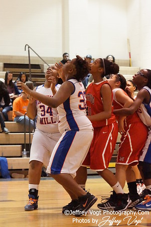 02-03-2012 Watkins Mill HS vs Northwood HS Varsity Girls Basketball Photos by Jeffrey Vogt