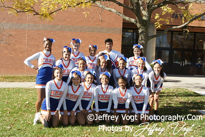 Cheerleading and Pom Competition