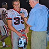 QO Middle Linebacker #33 Carlo St. Regis is honored to be compared to his past teammate, fellow QO Linebacker from the class of 2012, Marty Heyn.