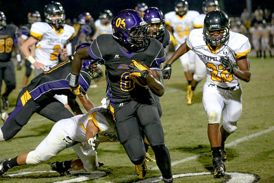 Marlin Johnson #6 gets all-purpose yards for CHS