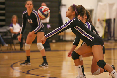 CHS Olivia Meyer-Massey #6 digs out offensive volley by Nortwood