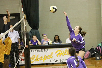 CHS Kelsey Smith #20 challenges CHHS blockers