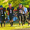 Quince Orchard Team Captains: #7 Malcolm Brown, #2 Brad Walker, #15 Mike Murtaugh, and #66 Scott Mongold