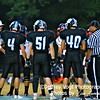 Whitman Team Captains #4 Zac Morton, #51 Max Sessions, and #40 Mark Norris
