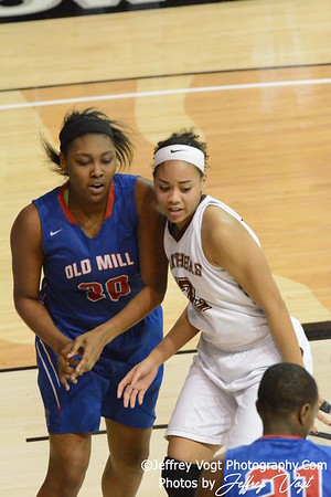 03-12-2015 Paint Branch vs Old Mill HS Girls Varsity 4A Semi Final MPSSAA Basketball, Photos by Jeffrey Vogt, MoCoDaily