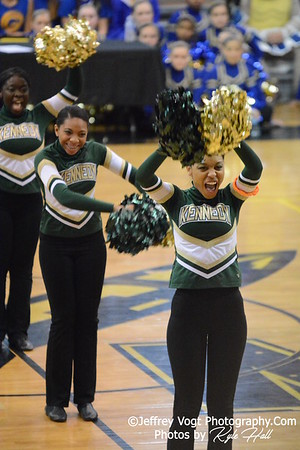 Division 3 MCPS Poms Championship at Richard Montgomery HS 2-14-2015