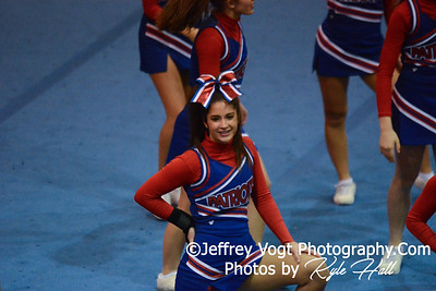 Division 1 Blair HS MCPS Cheerleading Competition 11-15-2014
