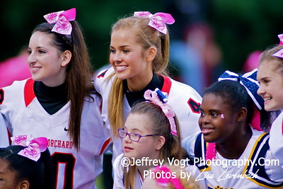 10-10-2014 Quince Orchard HS Cheerleading, Poms, & Homecoming Court, Photos by Lisa Levenbach