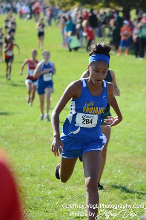 10-18-2014 MCPS Cross Country Championships, Varsity Girls at Bohrer Park, Photos by Jeffrey Vogt, MoCoDaily