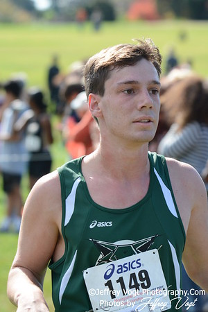 10-18-2014 MCPS Cross Country Championships, 11-12 Boys at Bohrer Park, Photos by Jeffrey Vogt, MoCoDaily