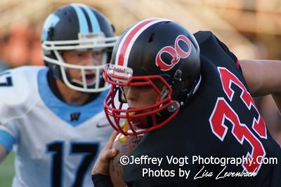 09-12-2014 Quince Orchard HS vs Whitman HS Varsity Football, Photos by Lisa Levenbach