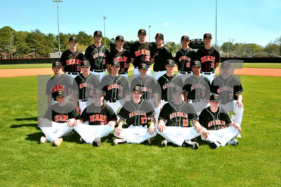 JV baseball team