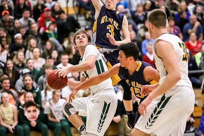 Evan Backus (3) Jake Beauchesne Makao Thompson (15)