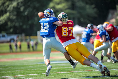 Deering's Rob Dacey Oxford Hills' Connor Bickford