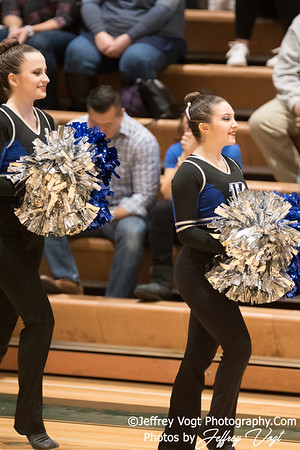 1-13-2018 Blake HS at Damascus HS Poms Invitational Division 1, MoCoDaily, Photos by Jeffrey Vogt