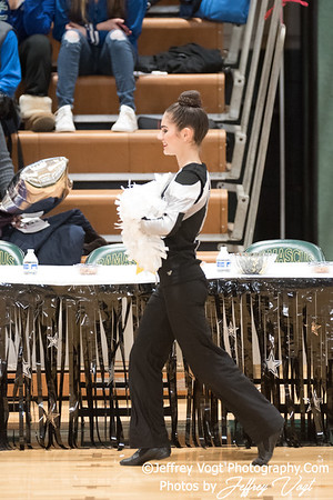 1-13-2018 Northwest HS at Damascus HS Poms Invitational Division 2, MoCoDaily, Photos by Jeffrey Vogt