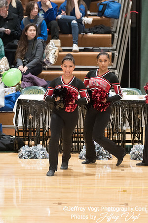 1-13-2018 Northwood HS at Damascus HS Poms Invitational Division 2, MoCoDaily, Photos by Jeffrey Vogt